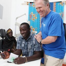 OneSight in the Gambia: the lasting impact of Luxottica's volunteers