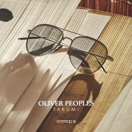 Oliver Peoples Takumi: An Homage to the Brand's Heritage and Japanese Craft