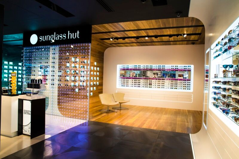 The First Sunglass Hut Flagship Store Opens In Asia