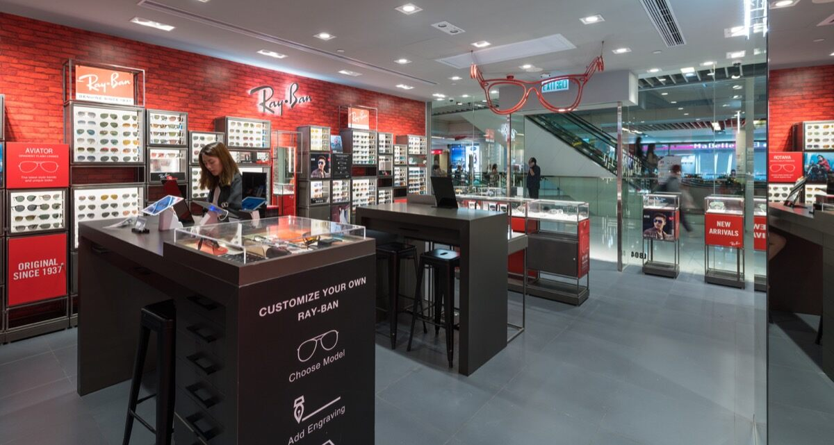 7804fb29c8a RAY-BAN EXPANDS IN CHINA WITH MORE THAN 100 STORES