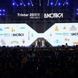 Luxottica celebrates 20 years of growth and partnership in China