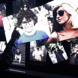THE NEW EDITION OF GIORGIO ARMANI FILMS OF CITY FRAMES: TECH SAVVY AND INTERACTIVE