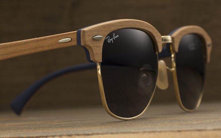 Coach Eyeglass Frames Luxottica : An icon reinvented: the new Clubmaster Wood Luxottica