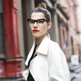 Lo stile e gli occhiali da vista. Secondo The Sartorialist