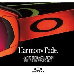 Harmony Fade, the Oakley collection that celebrates the tenacity of the athletes