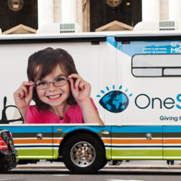 OneSight next stop: New York city. To help students see better, learn better!