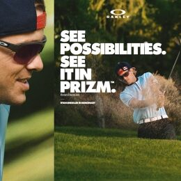 """SEE IT IN PRIZM"", THE WORLD AS SEEN THROUGH OAKLEY'S EYES"