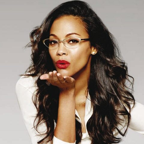 Zoe Saldana, find the perfect frames
