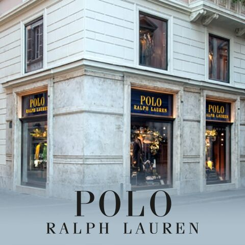 In Rome, with Polo Ralph Lauren