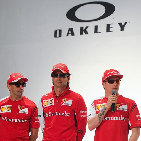 Oakley team up with Scuderia Ferrari: driven to perfecion