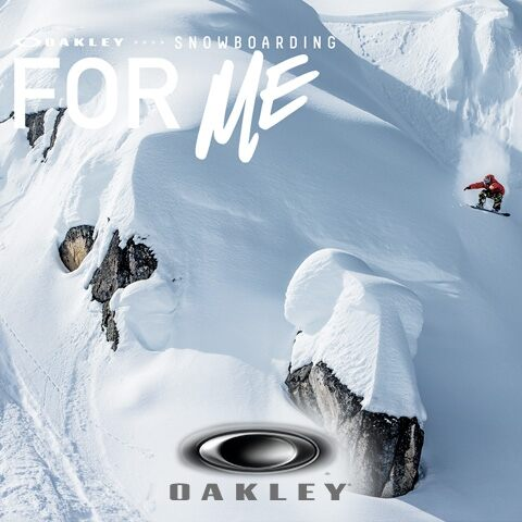 Snowboarding: FOR ME. A thrilling movie to celebrate the sport starring the Oakley Team