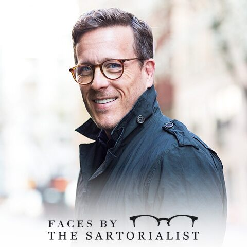 Style and eyeglasses. According to The Sartorialist