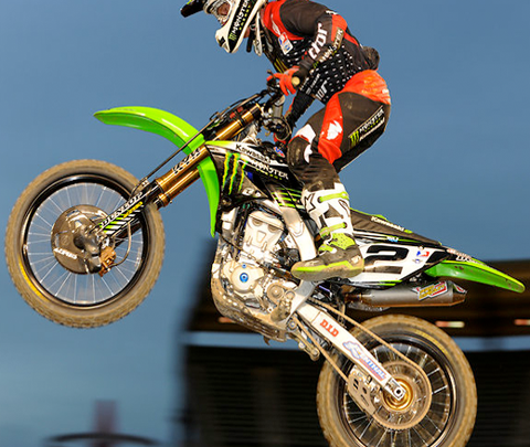 Oakley team Supercross: recommended for the brave!