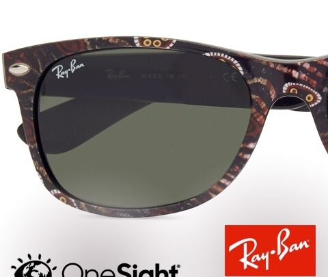 Ray-Ban Onesight Indigenous Wayfarer: a fashionable icon for a very special cause
