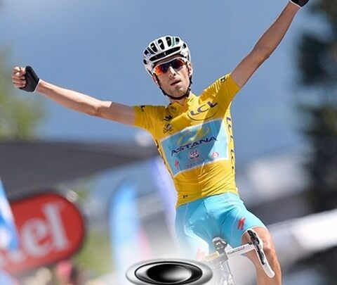 """Vincenzo Nibali is the winner of the 101st Tour de France, a race he led wearing the yellow jersey for eighteen days out of twenty-one. And Oakley climbs to top of the podium alongside the Italian champion, a perfect interpreter of the """"disruptive"""" and """"beyond limits"""" spirit of the brand. It's not by chance that Nibali earned his nickname """"the shark"""", for his incessantly attacking racing style which thrilled everyone!"""