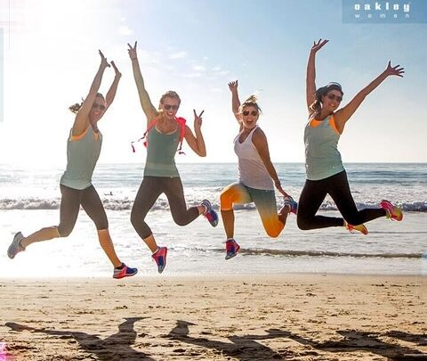 Sporty and stylish, graceful yet strong: here they are, the Oakley women!