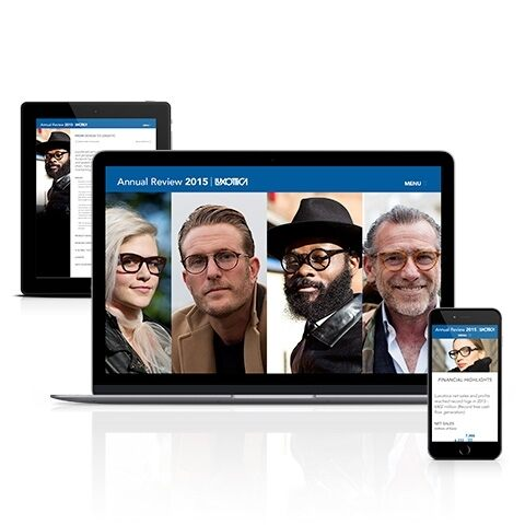 Explore Luxottica's Annual Review 2015 now online!