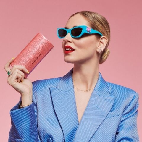 Chiara Ferragni exclusive eyewear collection
