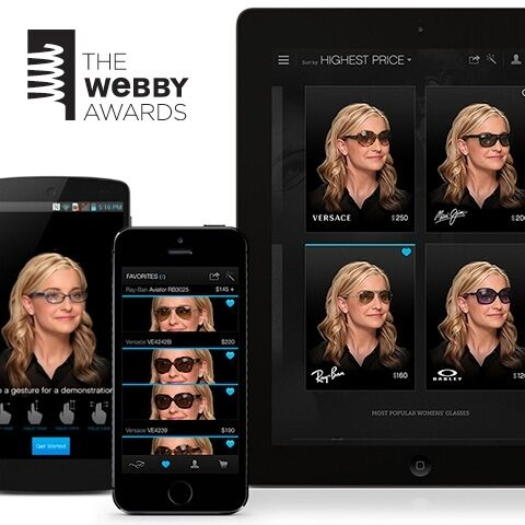 """Glasses.com Wins a Webby Award for """"Best Use of Device Camera"""""""