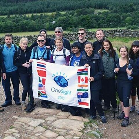 Luxottica Employees Climb Mountains to Raise Money for OneSight
