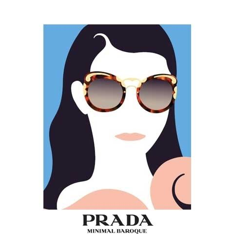 fc847ae1c18 PRADA MINIMAL BAROQUE SUNGLASSES COLLECTION. Prada Special Project SS15.  Prada Special Project SS15. Luxottica Group and Prada Group renew eyewear  license ...