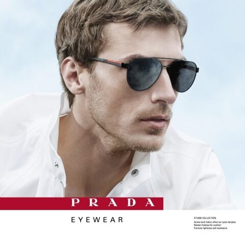 68fd1e7462a0 NEW PRADA LINEA ROSSA EYEWEAR ADV CAMPAIGN IS LAUNCHED
