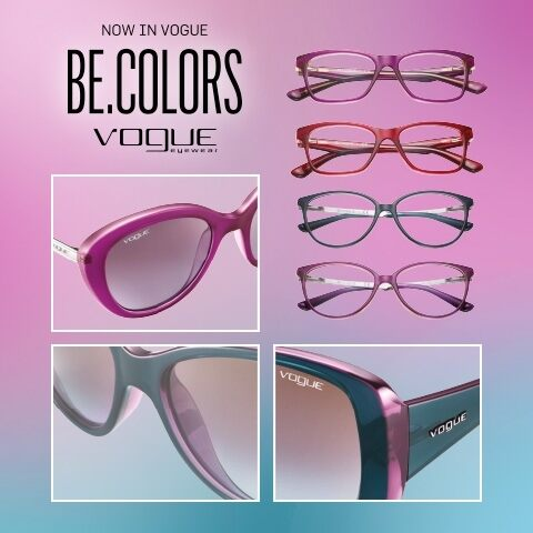 Excellent reasons to wear the Vogue Eyewear Be.Colors models