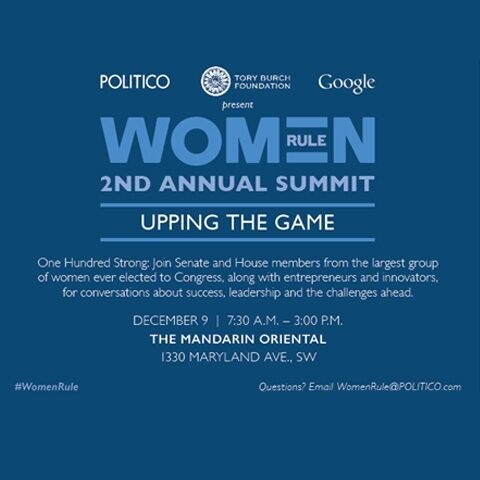 Women Rule Summit 2014. Upping the game