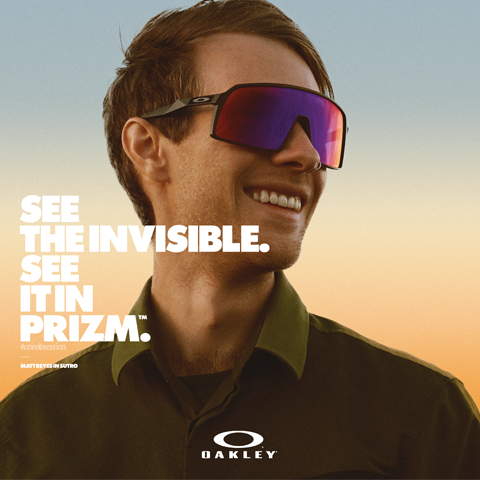 """SEE IT IN PRIZM"", IL MONDO VISTO ATTRAVERSO OAKLEY"