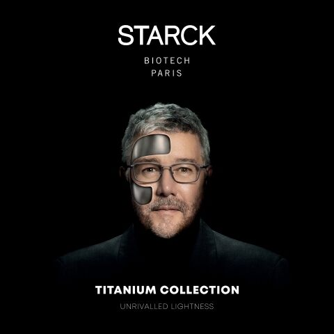 STARCK BIOTECH PARIS TITANIUM COLLECTION: THE ULTIMATE STRENGTH AND EXTREME LIGHTNESS