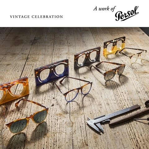 Persol Vintage Celebration: close encounters with color and materials