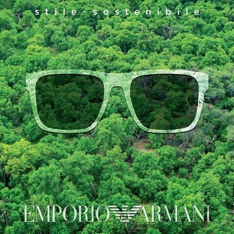 Emporio Armani Eyewear: environmentally conscious style