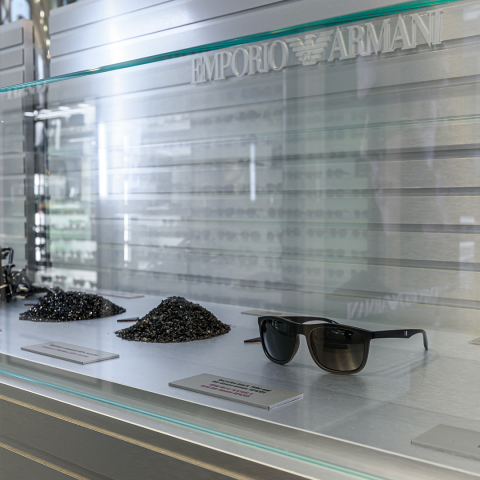 EMPORIO ARMANI: SAY YES TO RECYCLING!