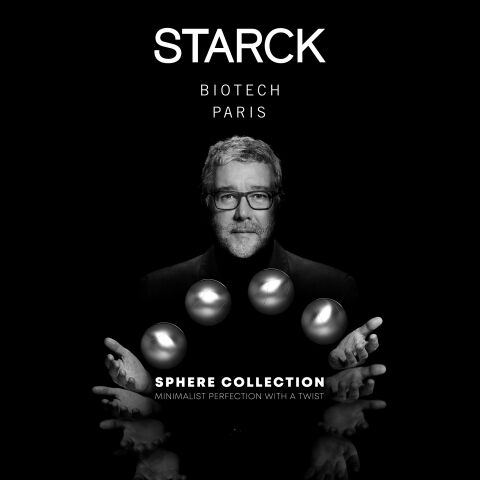 STARCK BIOTECH PARIS presents SPHERE, a collection with a revolutionary technology inspired by Nature's infinite intelligence.