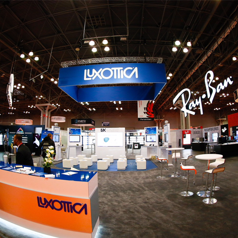 Luxottica and Its Brands Make a Bold Impression at Vision Expo East