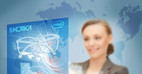 Intel and Luxottica Group Announce Multiyear  Collaboration for Wearable Tech