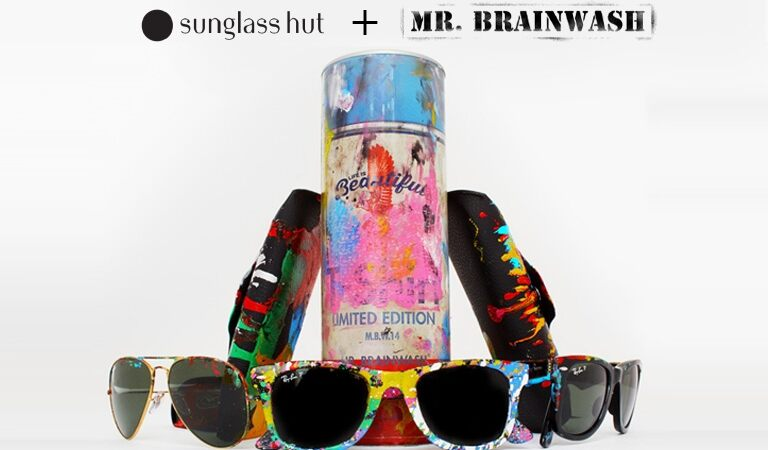 231b494697 Sunglass Hut - SOHO  Where Street Art Meets Fashion