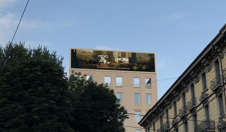 Luxottica for Art: le opere della Pinacoteca Ambrosiana sugli schermi Luxottica di Milano