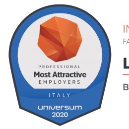ITALY'S MOST ATTRACTIVE EMPLOYERS 2020: LUXOTTICA, THE YOUNG PROFESSIONALS' CHOICE